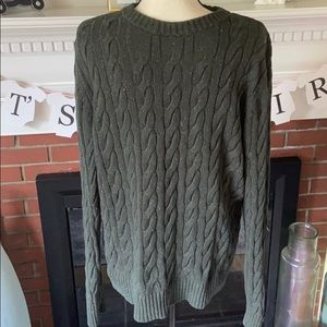 Men's Merona Cable Knit Sweater